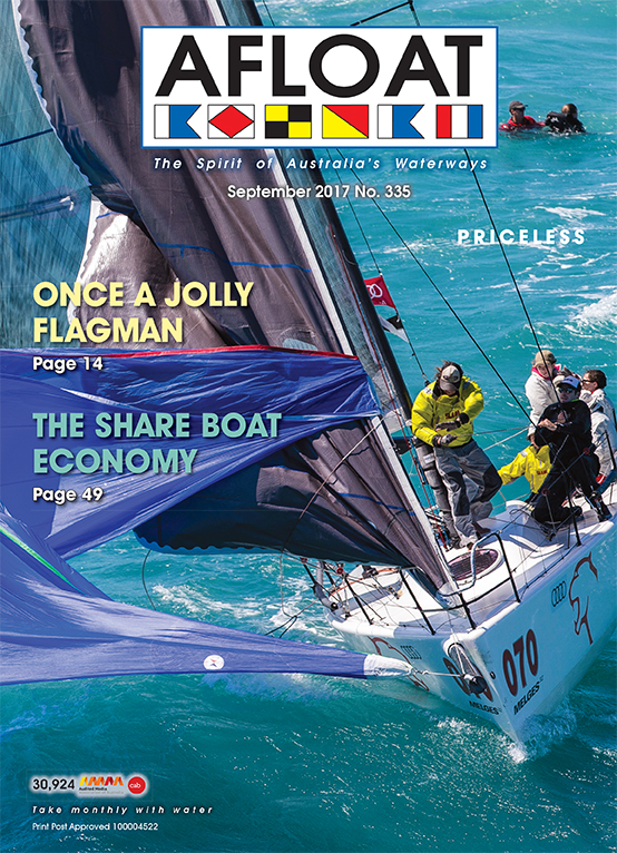 AFLOAT cover September 2017