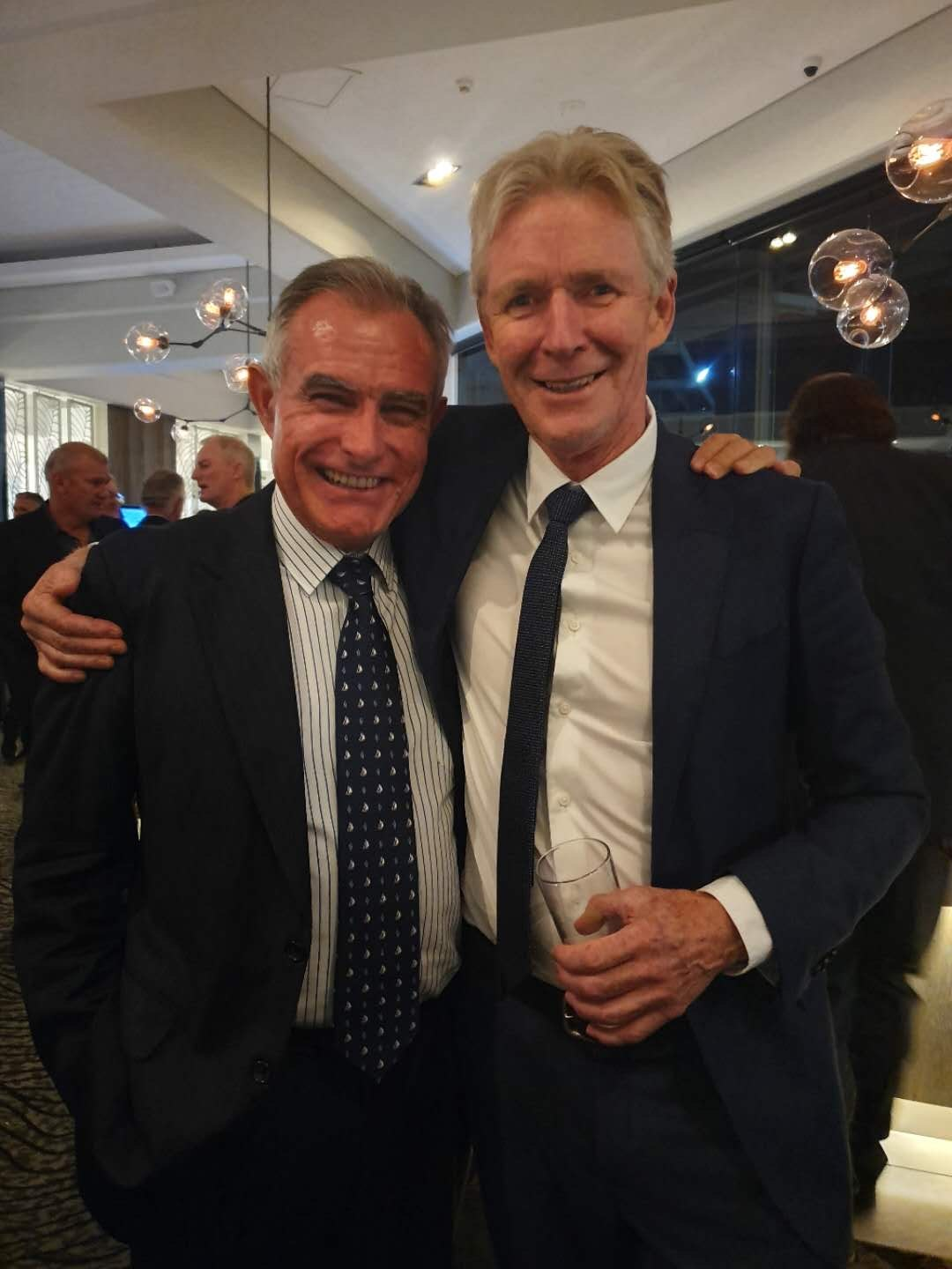 Andrew Chapman and Colin Bransgrove Celebrate Marinas19