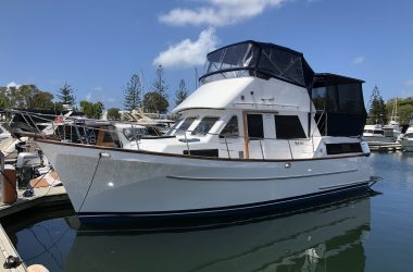Pacific36 aft cabin cruiser
