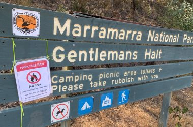 Marine Rescue volunteers prevent fire outbreak in National Park