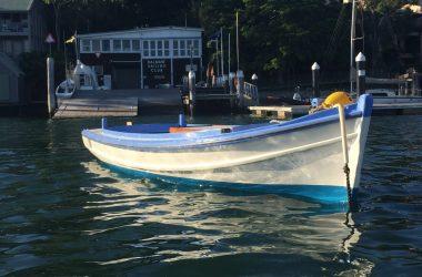 Historic Sydney Harbour working boat