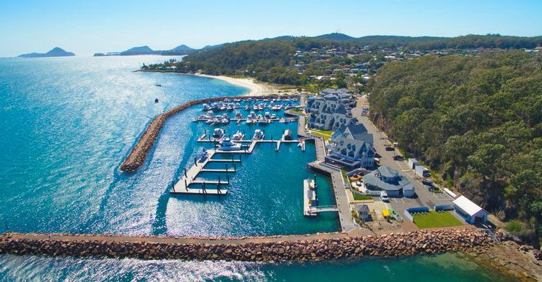 The Anchorage Marina, now the Nautical Jewel of Port Stephens after Luxury Refurbishments
