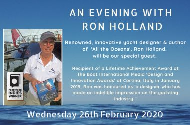 An evening with Ron Holland at MHYC
