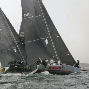 MC38 2020 Australian Championship - gnarly Sydney Harbour. Photo Tilly Lock