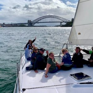 Firefighter Family Day- Brigades on charter vessels on Sydney Harbour