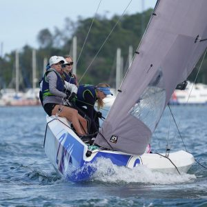 SAILING Champions League - HHSC 3 2nd overall. Photo Beau Outteridge