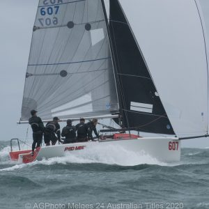 Melges 24 Nationals - Robbie Deussen and his team on Red Mist came away with their second national title in a row