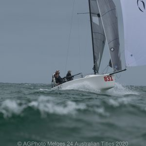 Melges 24 Nationals - Sandy Higgins and the Scorpius team finished second overall in the Melges 24 Nationals