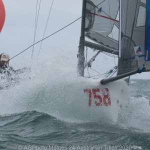Melges 24 Nationals - Wet wild and windy on the final day of the Melges 24 Nationals