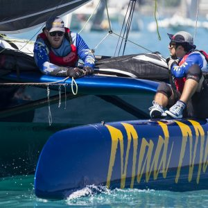 Multihulls can stretch out on the courses at ABRW
