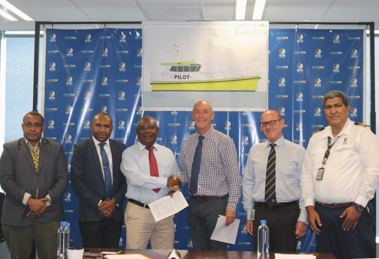 Norman R. Wright & Sons Build Pilot Boats for PNG Ports