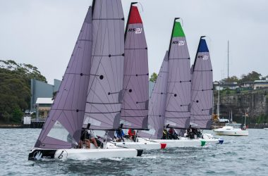 Slick Newcastle Cruising YC team sews up northern qualifier