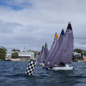 SAILING Champions League - SCLAPAC northern qualifier start off Woolwich. Photo Beau Outteridge