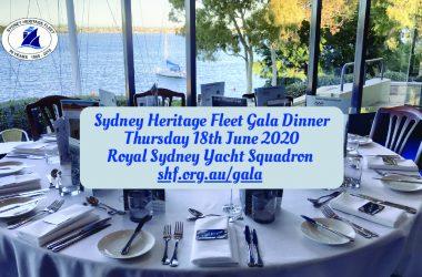 Sydney Heritage Fleet Annual Gala Dinner