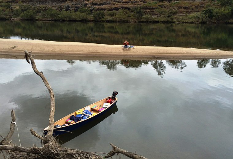 Clarence River Adventure by Canoe