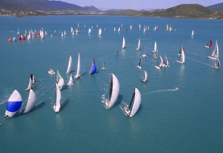 Airlie Beach Race Week – the rounding mark on a distant horizon