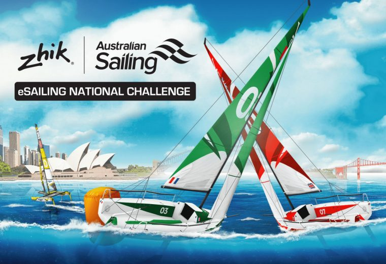 Zhik Australian eSailing National Challenge launched