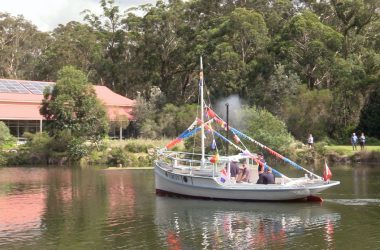 Crest relaunched at Jervis Bay Maritime Museum