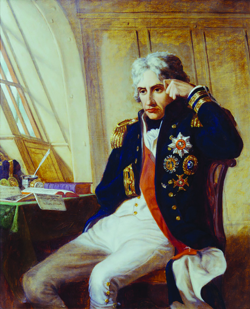 England's Greatest Hero Vice Admiral Horatio Nelson in uniform