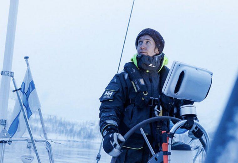Adventure Sailing inside the Arctic Circle