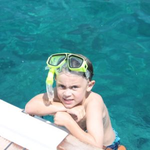 Group Sailing Adventures with kids in the Greek Peloponnese region
