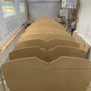 The Wooden Boat Centre Franklin, Tasmania building the Franklin 29