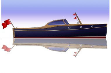 Franklin 29 showcases Shipwright skills