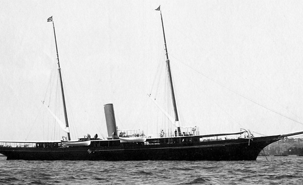 J P Morgans yacht Corsair