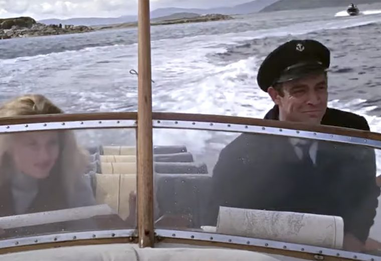 Don't let James Bond borrow your boat