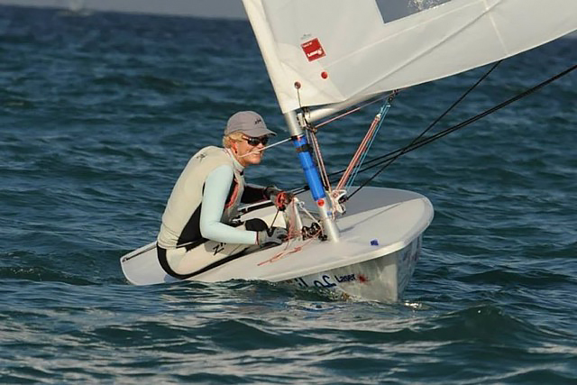 Vanessa Dudley – Offshore veteran and Laser Radial Grand Master World Champion