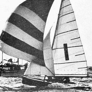 1963 Giltinan champion,Schemer, skippered by Ken Beashel