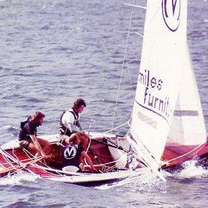 18ft Skiffs The Kulmar Family - Miles original with crew