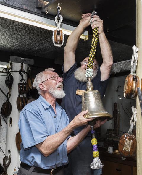 Ross Shardlow marine artist For whom the bell tolls - Marine artist Ross Harry Shardlow A.M
