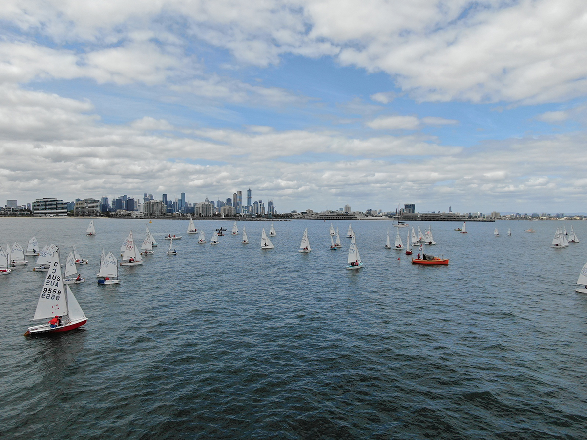 The Royal Yacht Club of Victoria has a rich history of racing International Cadets