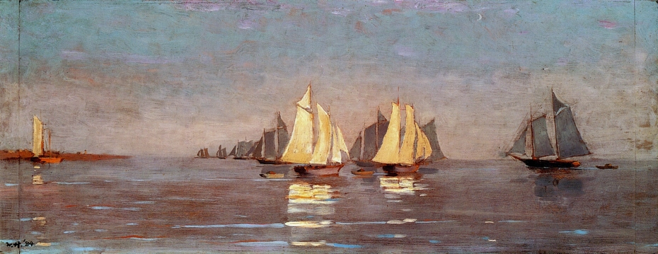 Henry David Thoreau – Cape Cod mackerel fleet