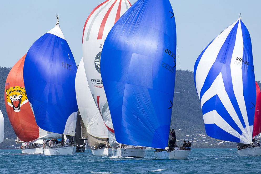 A reminder of what we have been missing at Airlie Beach Race Week