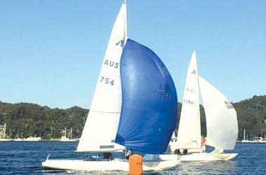 Etchells Class Yacht-  AUS 754