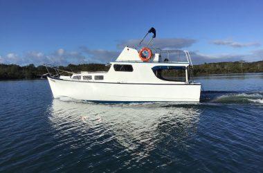 32' Timber Flybridge Cruiser