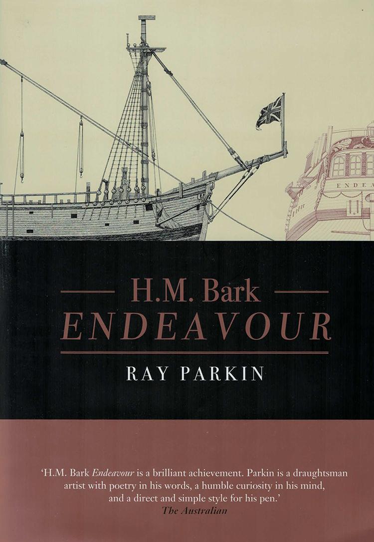 Book Ray Parkin HM Bark Endeavour