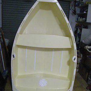 Colin McGregor built a dinghy