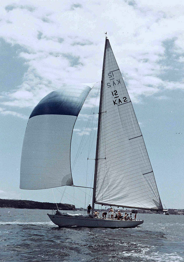 Dame Pattie, the 1967 Australian challenger for The America's Cup