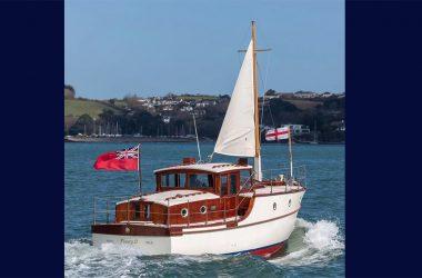 Historic Dunkirk Ship Fleury II restored