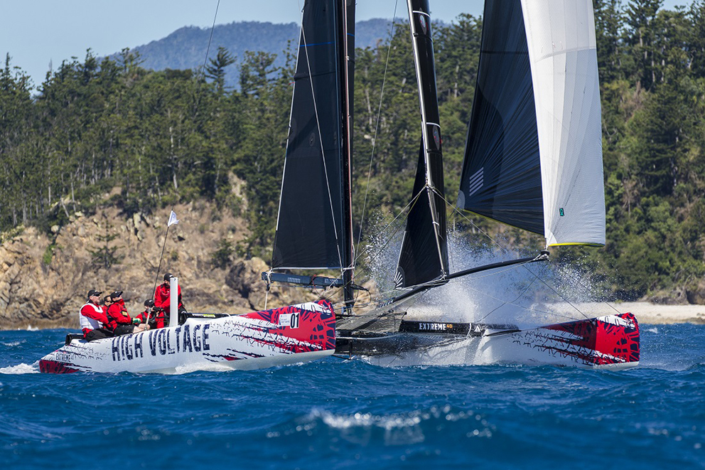 The Extreme 40s will be part of the package again at Airlie Beach Race Week