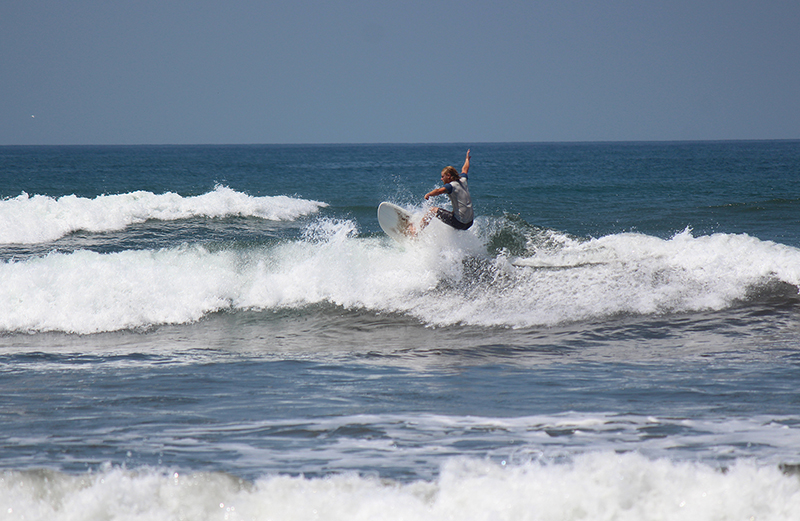 World class waves are just one reason my son and I love Nicaragua
