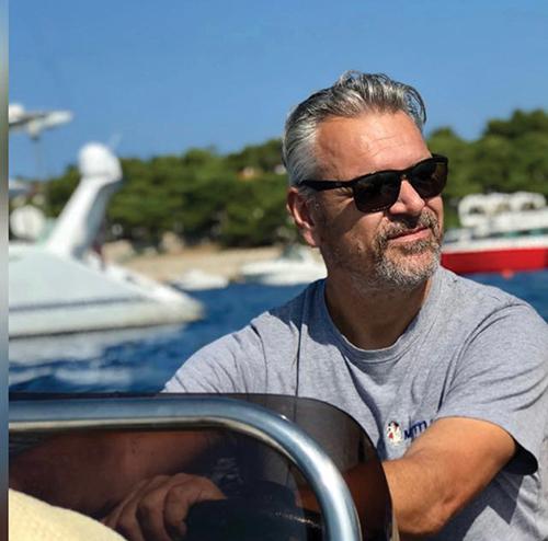 Hugh Ellis, Owner/skipper Mistral.