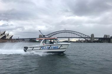 Top Tech for Optimum Safety on Sydney Harbour