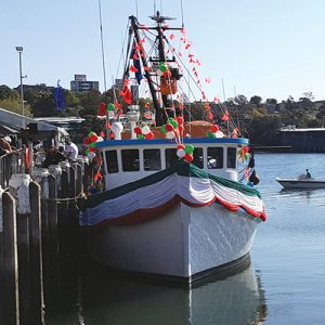 Blessing of the Fleet at the Sydney Fish Markets