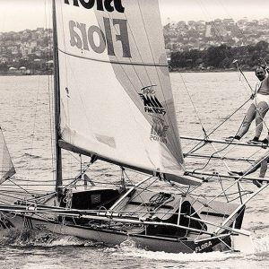 Flora-Triple M, skippered by John Winning in the 1980s