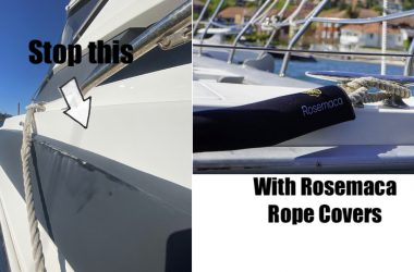 Yacht Mooring Line Rope Covers