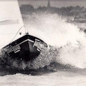 John Winning's first 18ft Skiff in 1975-76